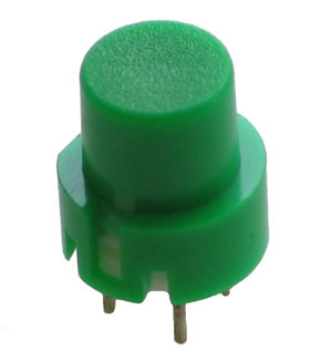 TACT011 - Raised Green Tactile Switch