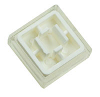 TACTWHT - White Tactile Switch Button