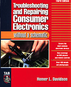 Click for Larger Image - Troubleshooting and Repairing Consumer Electronics
