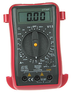 Compact Digital Multimeter with Frequency Measurement