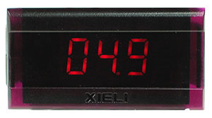 XL2-100V-2WIRE - Digital Red 100VDC LED Voltmeter