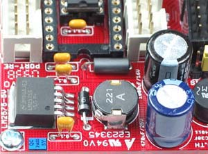 Click for Larger Image - dsPIC30F2010 Controller Board