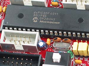 Click for Larger Image - dsPIC30F4011 Controller - dsPIC30F4011 Microcontroller