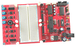 dsPIC30F2010 Development Board
